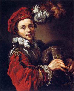 Portrait of Francois Langlois | Claude Vignon | Oil Painting