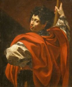 The Halberdier | Simon Vouet | Oil Painting