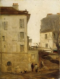 Old Quarter | Antoine Vollon | Oil Painting
