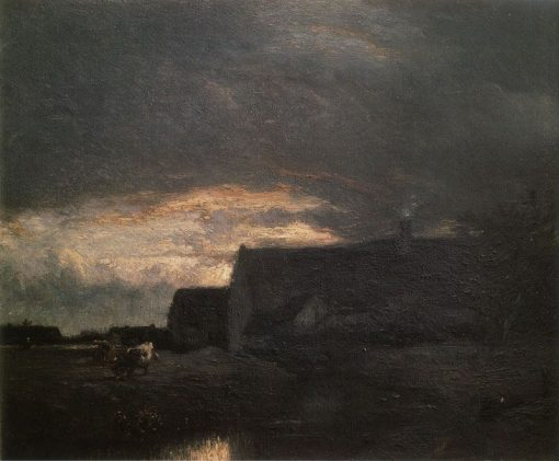 Evening | Jules DuprE | Oil Painting