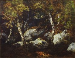 In the Forest of Fontainebleau | Narcisse Dìaz de la Peña | Oil Painting