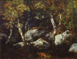 In the Forest of Fontainebleau | Narcisse Dìaz de la Peña | Oil Painting