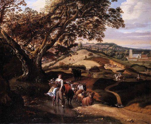 A Pastoral Landscape | Jan Siberechts | Oil Painting