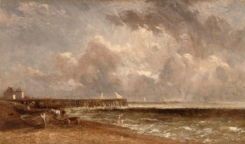 Yarmouth Pier | John Constable | Oil Painting