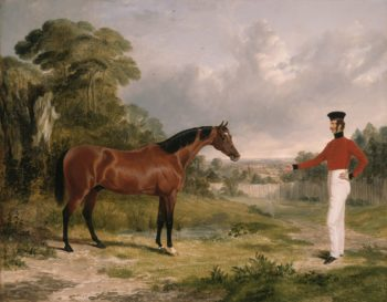 A Soldier with an Officer's Charger | John Frederick Herring