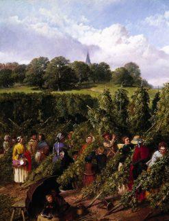 The Hop Pickers | John Frederick Herring