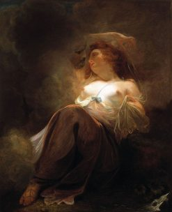 Jupiter and Io | John Hoppner | Oil Painting