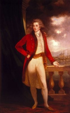 Captain George Porter | John Hoppner | Oil Painting