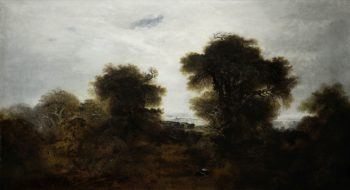 Landscape: View in Richmond Park | John Martin | Oil Painting
