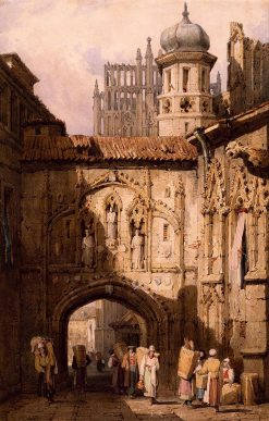A View in Nuremberg | Samuel Prout | Oil Painting
