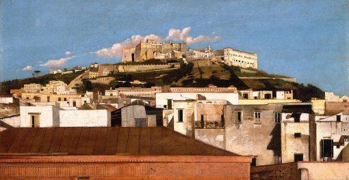 A View of Certosa di San Martino with the Castel Sant' Elmo