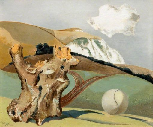 Event on the Downs | Paul Nash | Oil Painting