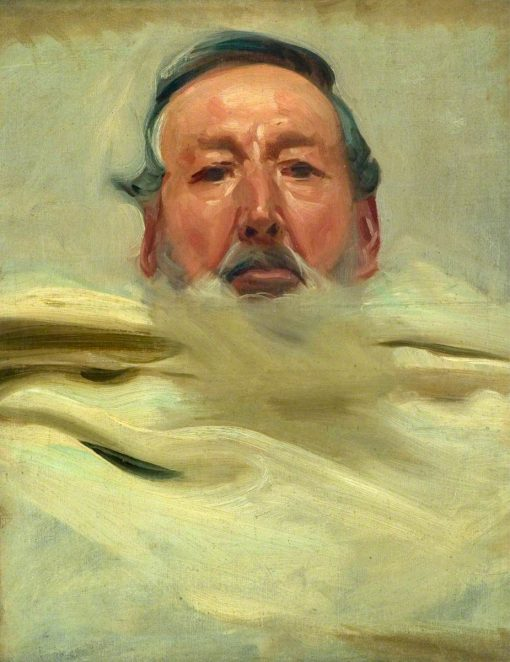 Portrait Study for Head of Moses | John Singer Sargent | Oil Painting
