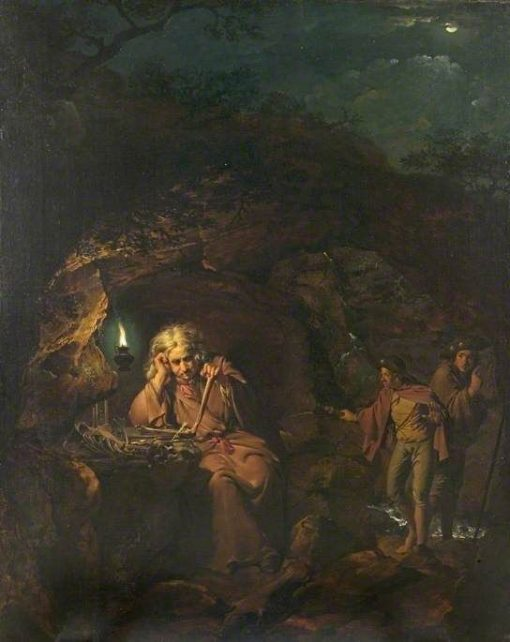 A Philospher by Lamplight | Joseph Wright of Derby | Oil Painting