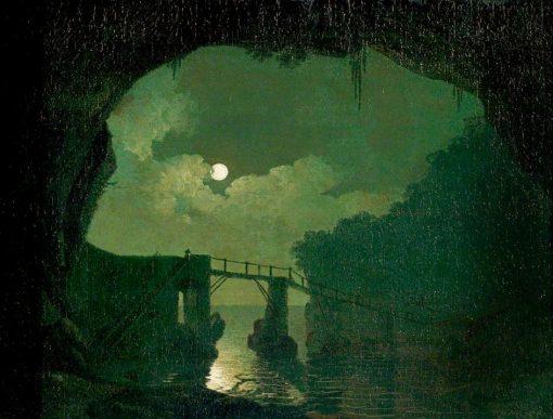 Bridge through a Cavern