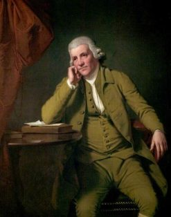 Jedediah Strutt | Joseph Wright of Derby | Oil Painting