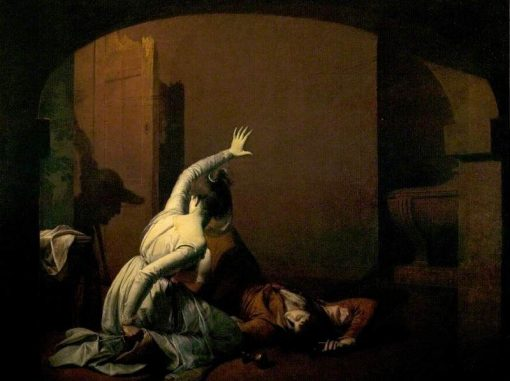 Romeo and Juliet | Joseph Wright of Derby | Oil Painting