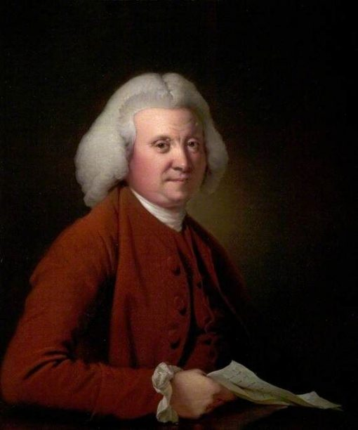 Samuel Crompton | Joseph Wright of Derby | Oil Painting