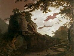 Virgil's Tomb | Joseph Wright of Derby | Oil Painting