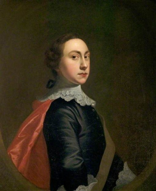 Self Portait in Van Dyck Costume | Joseph Wright of Derby | Oil Painting