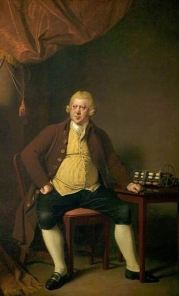 Sir Richard Arkwright (1732-1792)   Joseph Wright of Derby   Oil Painting