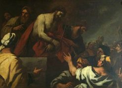 Christ Led to Calvary | Luca Giordano | Oil Painting