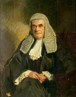 Portrait of a Judge | Reginald Grenville Eves | Oil Painting