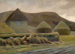 The Sussex Downs | Roger Eliot Fry | Oil Painting