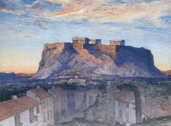 Acropolis at Sunrise | Herbert Hughes Stanton | Oil Painting