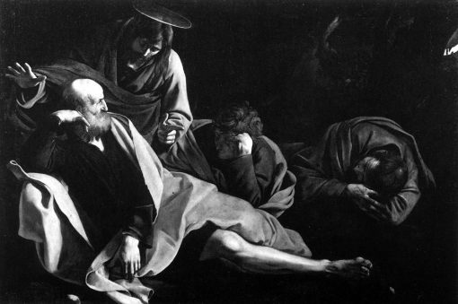 Christ on the Mount of Olives | Caravaggio | Oil Painting