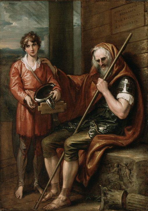 Belisarius and the Boy | Benjamin West | Oil Painting