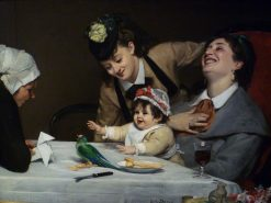 Merrymakers | Charles Auguste Emile Durand | Oil Painting