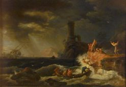 The Shipwreck | Claude Joseph Vernet | Oil Painting