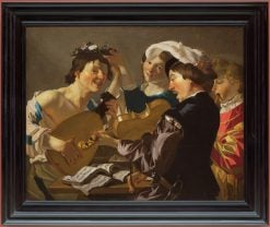 The Concert | Dirck van Baburen | Oil Painting