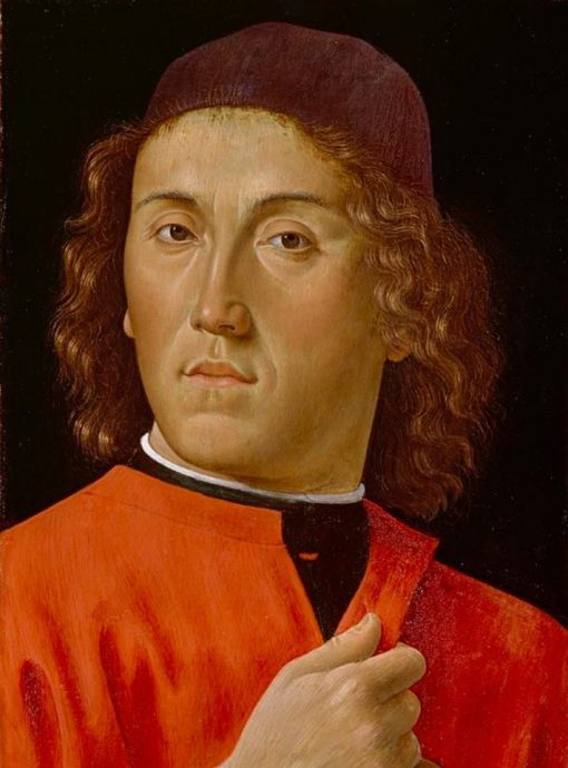 Young Man | Domenico Ghirlandaio | Oil Painting