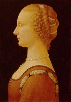 Young Woman | Domenico Ghirlandaio | Oil Painting