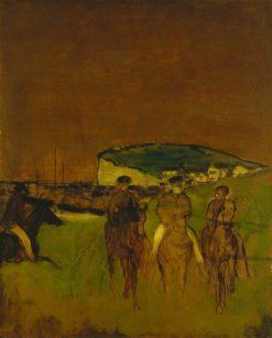 Morning Ride | Edgar Degas | Oil Painting
