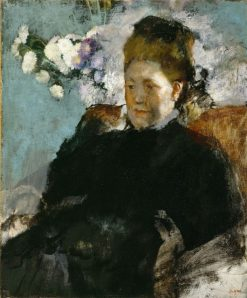 Portrait of a Woman | Edgar Degas | Oil Painting