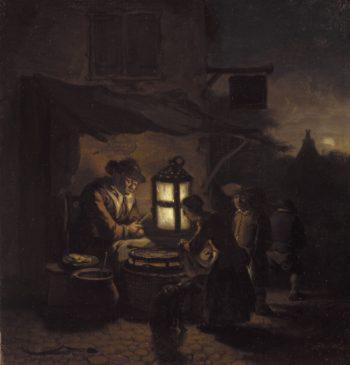 The Pancake Maker | Egbert van der Poel | Oil Painting