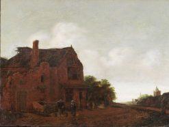 The Farm Well | Emanuel Murant | Oil Painting