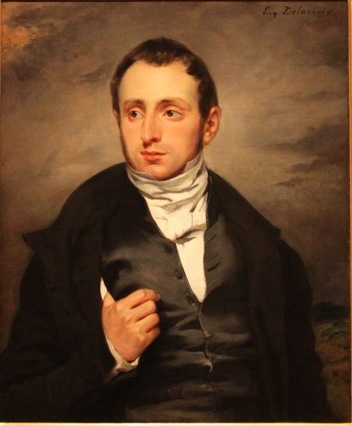 Portrait of Dr Francois-Marie Desmaisons   Eugene Delacroix   Oil Painting
