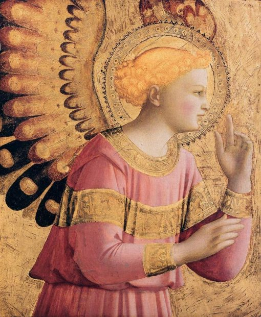 Annunciatory Angel | Fra Angelico | Oil Painting