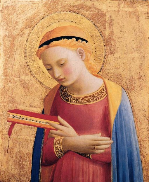 Virgin Annunciate | Fra Angelico | Oil Painting