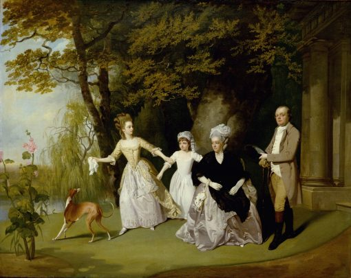 The Wilkinson Family | Francis Wheatley | Oil Painting