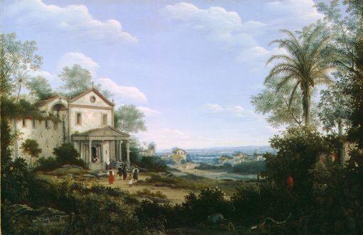 View of the Jesuit Church in Olinda