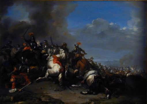 Cavalry | Jacques Courtois | Oil Painting