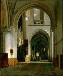 Interior of the Grote Kerk