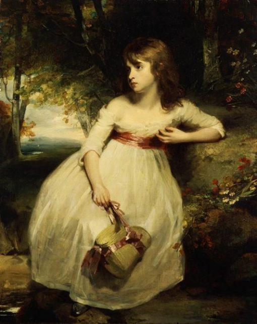 The Little Gardener   John Hoppner   Oil Painting