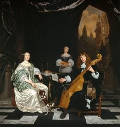 The Sinfonia(also known as Family Portrait) | Michiel van Musscher | Oil Painting