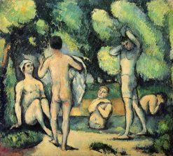 Les Baigneuses | Paul CEzanne | Oil Painting